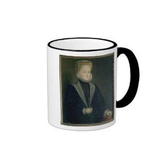 Anne of Austria, Queen of Spain Ringer Mug