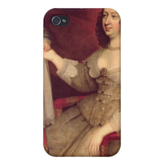 Anne of Austria with her son Louis XIV iPhone 4 Cases