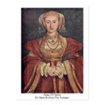 Anne Of Cleves By Hans Holbein The Younger Postcards