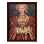 Anne Of Cleves. Hans Holbein The Younger Postcard