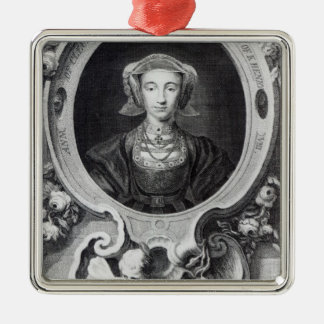 Anne of Cleves Metal Ornament