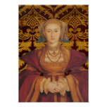 Anne of Cleves, Queen of  England Portrait Posters