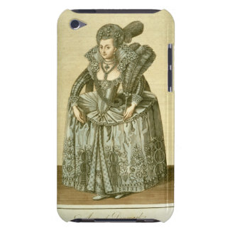 Anne of Denmark (1574-1619) wife of James I, illus iPod Touch Case-Mate Case