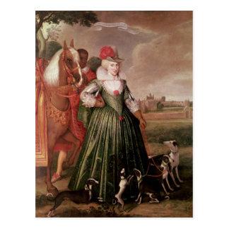 Anne of Denmark, 1617 Postcard