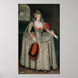 Anne of Denmark, c.1605-10 Poster