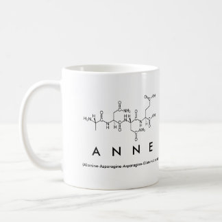 Anne peptide name mug