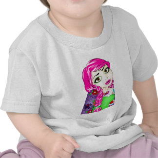 Anne raído camisetas