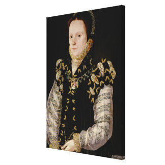Anne Russell, Countess of Warwick , c.1565 Canvas Print