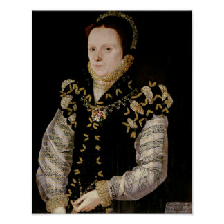 Anne Russell, Countess of Warwick , c.1565 Poster