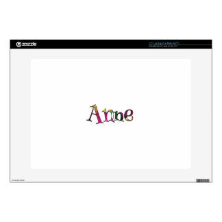 Anne's Colorful Fun Laptop Decals