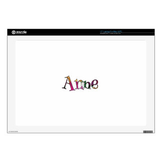Anne's Colorful Fun Skins For Laptops