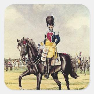 Anne Savary, duque de Rovigo Pegatina Cuadrada