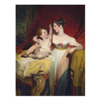 Anne, Viscountess Pollington, Countess Postcard
