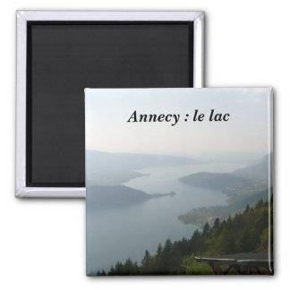Annecy el lago - iman de frigorífico