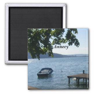 Annecy el lago - imán para frigorifico