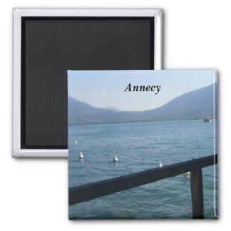 Annecy el lago - iman de nevera