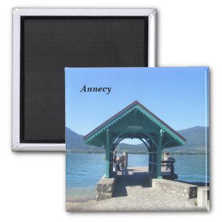 Annecy el lago - imanes de nevera