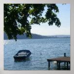 Annecy: el lago - poster