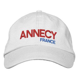 Annecy, Francia personalizó el gorra ajustable Gorra De Beisbol Bordada
