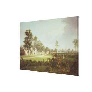 Annefield with Glasgow beyond, c.1800 Gallery Wrap Canvas