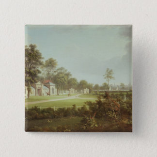 Annefield with Glasgow beyond, c.1800 Pinback Button