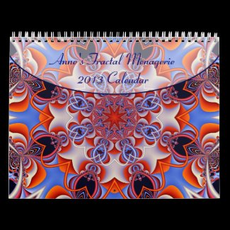 Anne's Fractal Menagerie 2013 Calendar