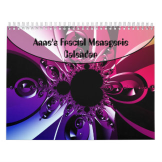 Anne's Fractal Menagerie Calendar