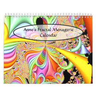 Anne's Fractal Menagerie Calendar #3