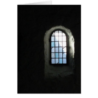 annes ventana, invierno del st tarjeta pequeña
