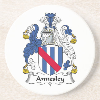 Annesley Family Crest Coaster
