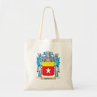 Annett Coat Of Arms Canvas Bag