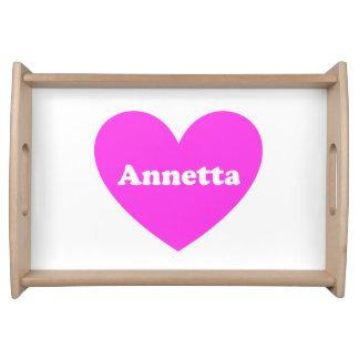Annetta Bandeja