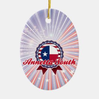 Annetta del sur TX Adornos De Navidad
