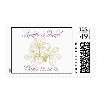 Annette and Daniel Monogram Stamp