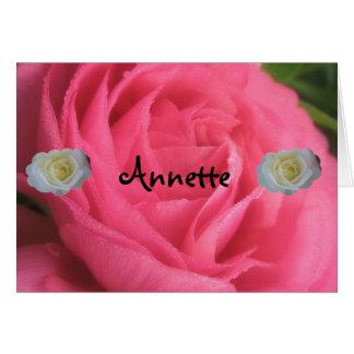Annette Card