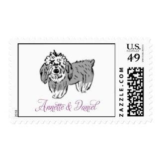 Annette & Daniel Monogram Stamp