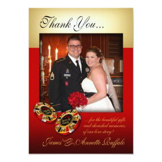 Annette:: PERSONALIZADO:: Gracias el casarse de Invitación 12,7 X 17,8 Cm