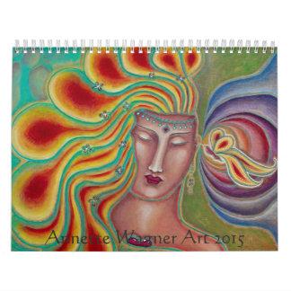 Annette Wagner Art 2015 Calendar
