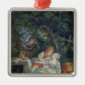 Annette y Lubin Ornamento Para Arbol De Navidad