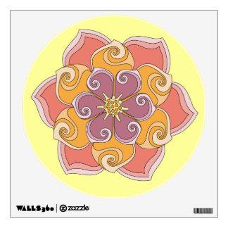 Annette's Flower Wall Sticker
