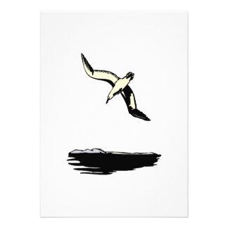 Annie Albatross Custom Invite