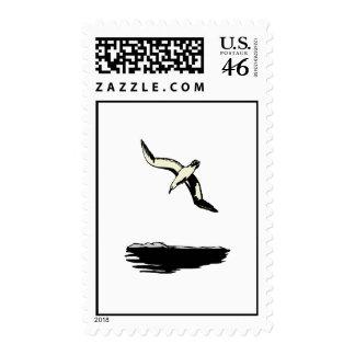 Annie Albatross Postage Stamp