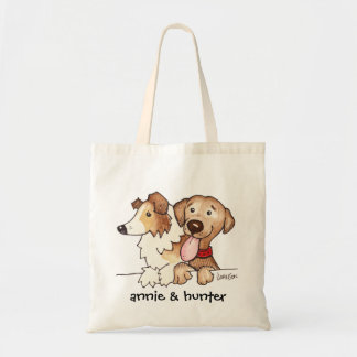 Annie and Hunter Budget Tote Bag