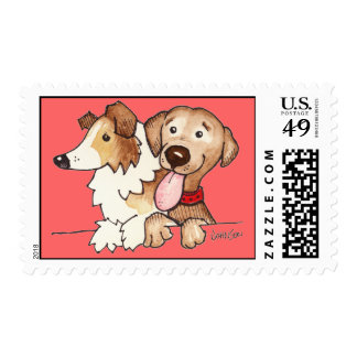 Annie and Hunter Postage