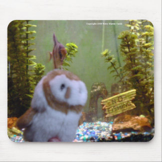 Annie & Angelfish Mouse Pad