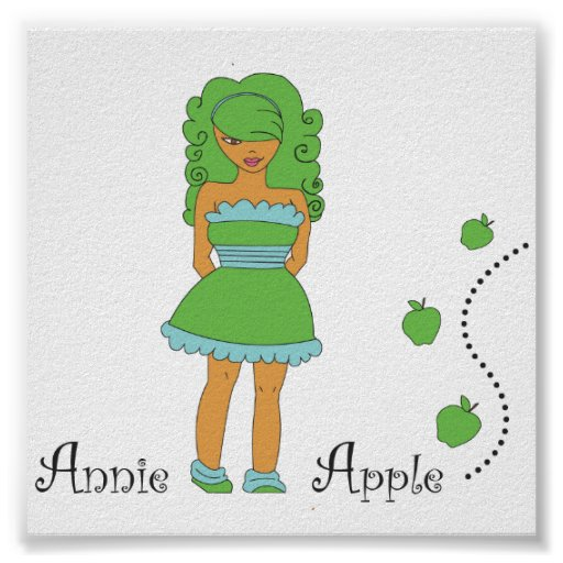 Annie Apple Posters