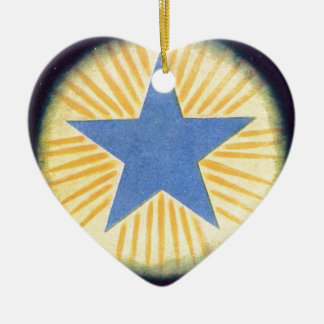 Annie Besant thought form series: Logos Ceramic Ornament