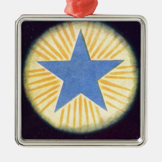 Annie Besant thought form series: Logos Metal Ornament