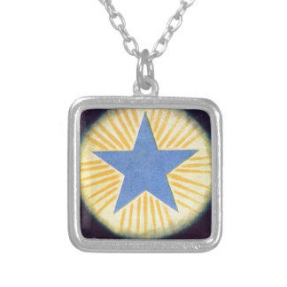Annie Besant thought form series: Logos Silver Plated Necklace