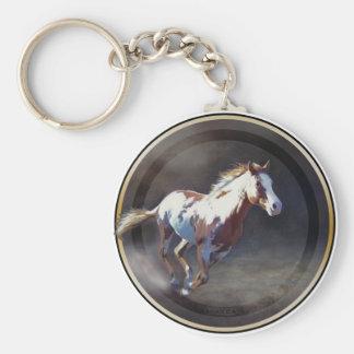 Annie Bonanza Basic Round Button Keychain